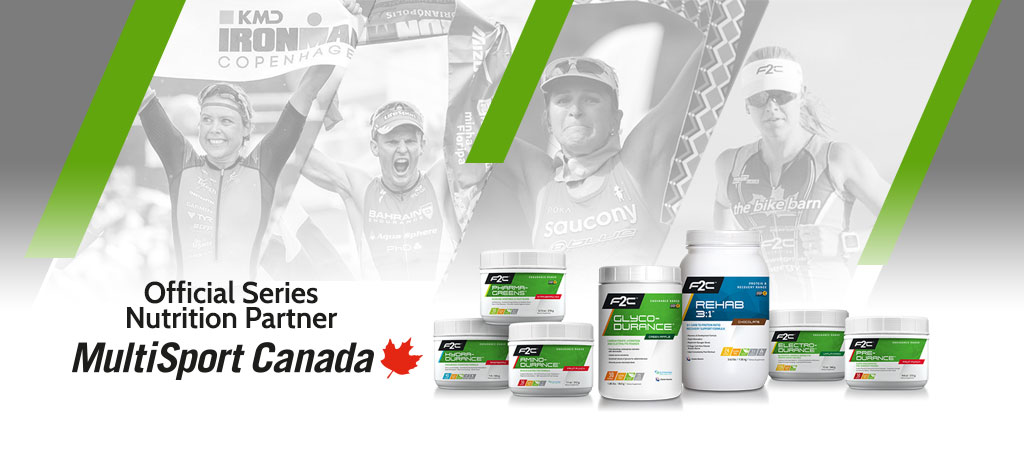 F2C Nutrition - Official Series Nutrition Partner Of Multisport Canada