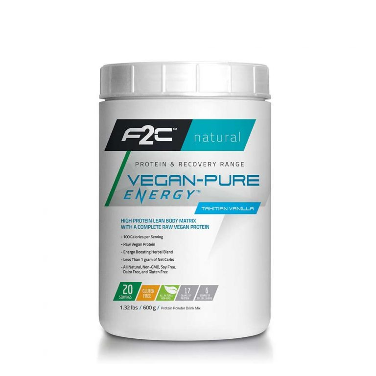 F2C Nutrition - Vegan-Pure Energy